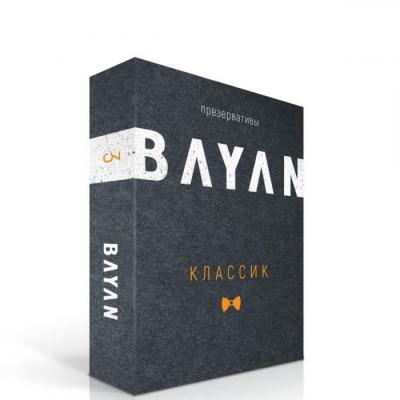 """Ультратонкие презервативы BAYAN """"Классик"""" - 3 шт."""