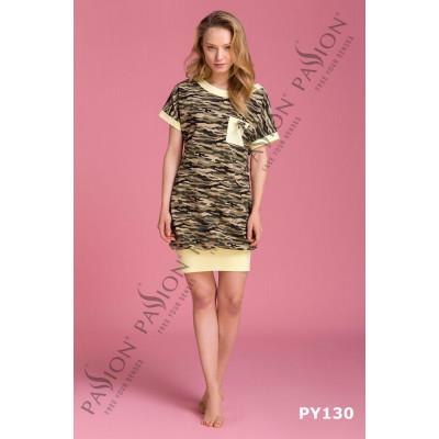 Оригинальное платье в стиле милитари