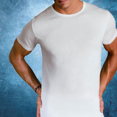 Мужская футболка полуприлегающего силуэта
