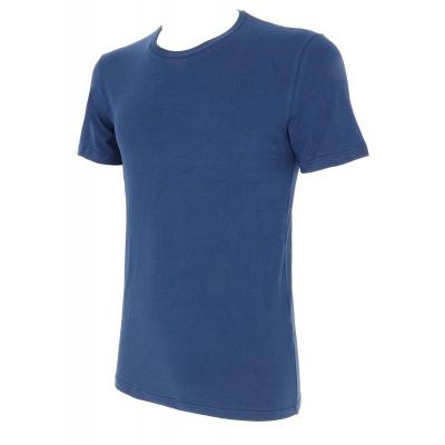 Мужская футболка с круглым вырезом горловины