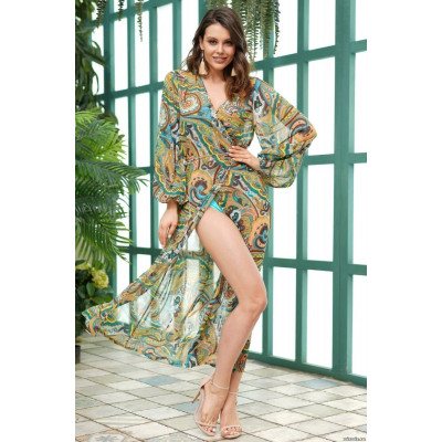 Восхитительное летнее платье-халат Salerno